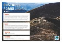 West Coast Council MTB Forum