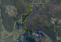 Lake King William (Low Water Level) alternative route