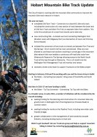 Hobart Mountain Bike Track Update (December 2015)