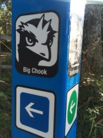 Big Chook Trailhead Signage
