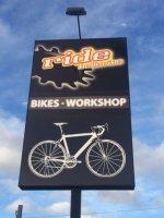 Ride Bellerive Street Sign