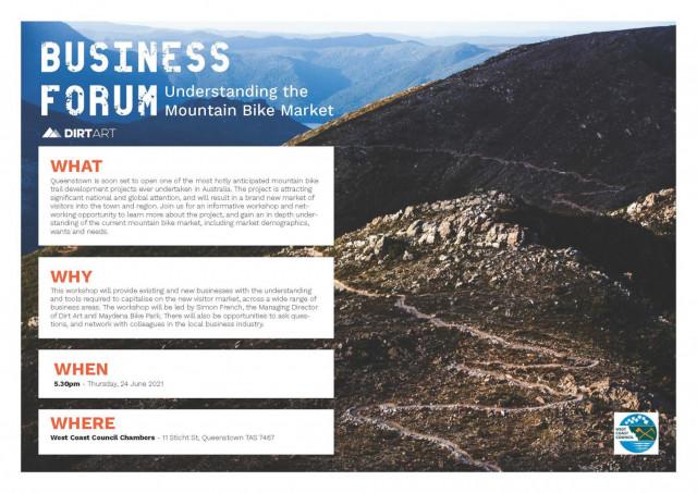Mountain Biking Business Forum - West Coast