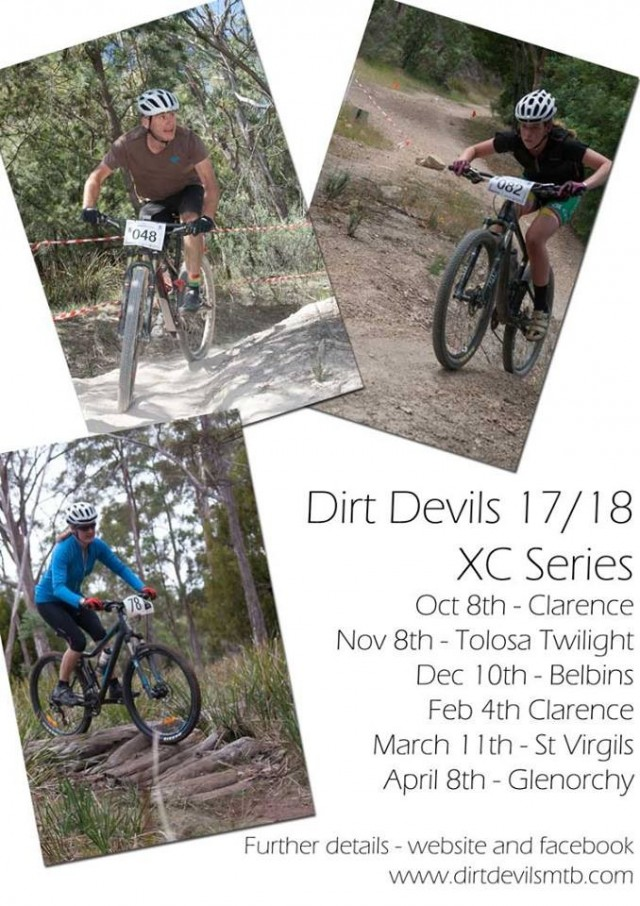 Dirt Devils 2017-18 XC Series #5 - St Virgils