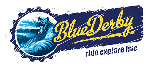 Blue Derby MTB Trails logo released