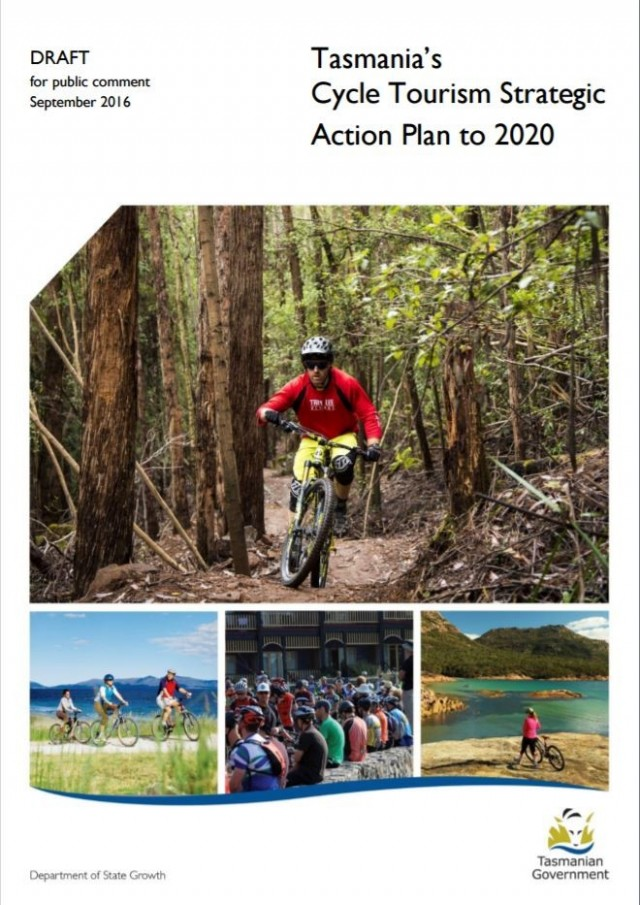 Draft Cycle Tourism Strategy for Tasmania released for comment