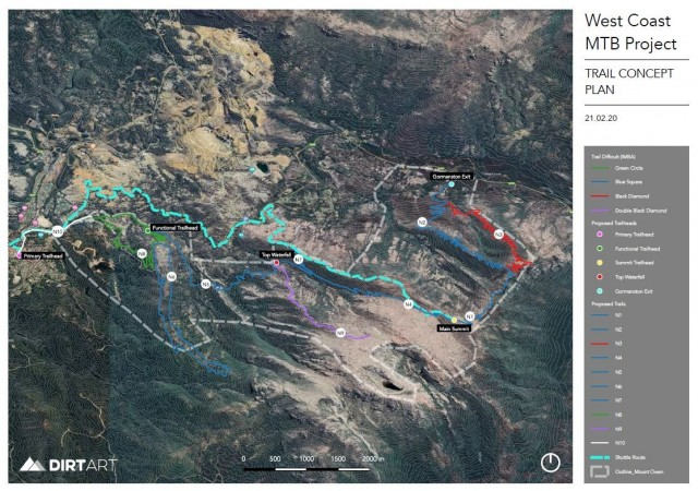 West Coast MTB Project - Mt Owen Proposal