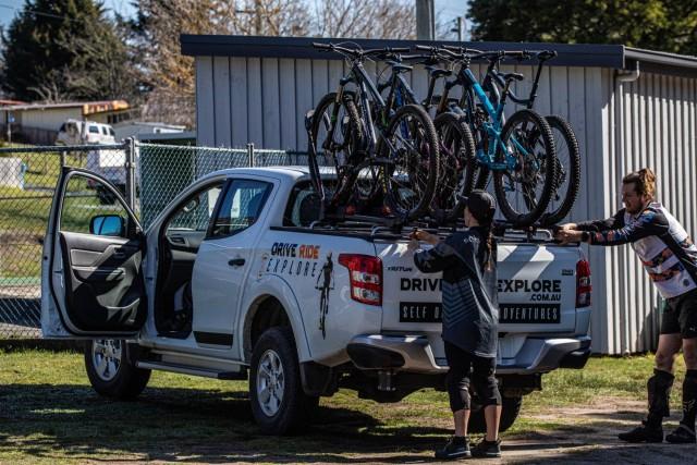 Drive Ride Explore - 4x4 MTB Ute Hire