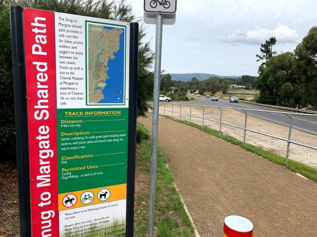 Snug to Margate Cycling Track Opens